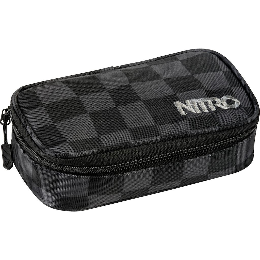 NITRO Federtasche »Pencil Case XL, Black Checker«