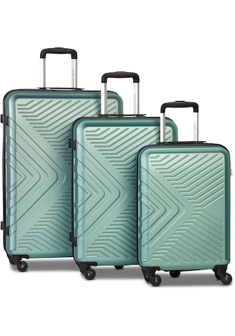 WORLDPACK Trolleyset »Globe, mint«, (Set, 3 tlg.) kaufen