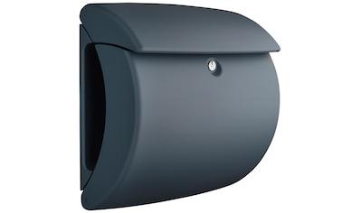 BURG WÄCHTER Briefkasten »Briefkasten in Matt - Optik, Pearl 886 GR«, Granit kaufen