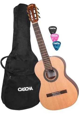 Cascha Konzertgitarre »Stage Series«, 3/4 kaufen