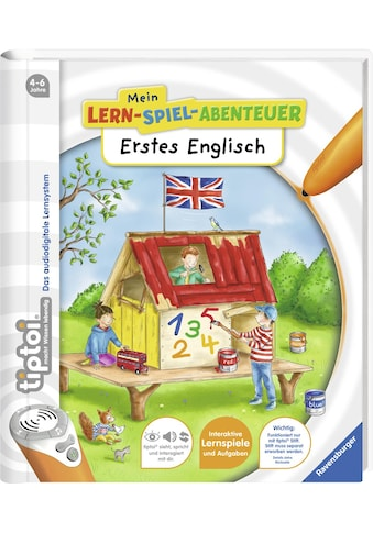 Ravensburger Buch »tiptoi®, Erstes Englisch«, Made in Europe kaufen