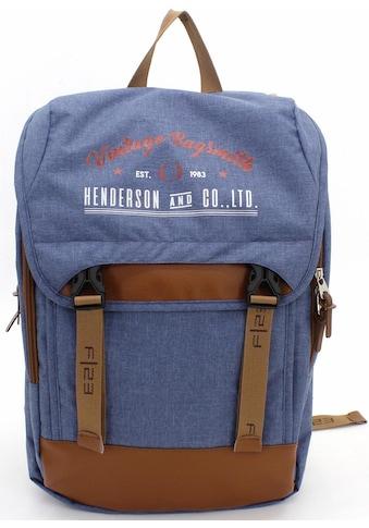 F23™ Laptoprucksack »Henderson & Co 17 L  -  blau meliert« kaufen