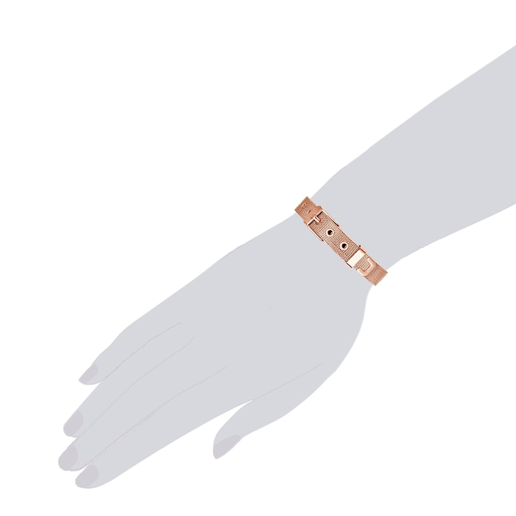 Rafaela Donata Armband »RD355«, (1 tlg.), in rosévergoldet