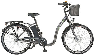 Didi THURAU Edition E - Bike »Alu City Comfort Tiefeinsteiger«, 3 Gang Shimano Nabenschaltung, Frontmotor 250 W (mit Schloss) kaufen