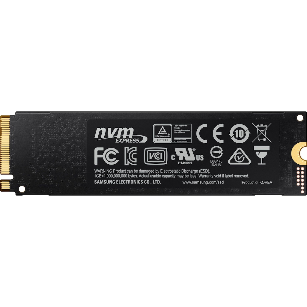 Samsung interne SSD »970 EVO Plus NVMe™ M.2 2 TB«