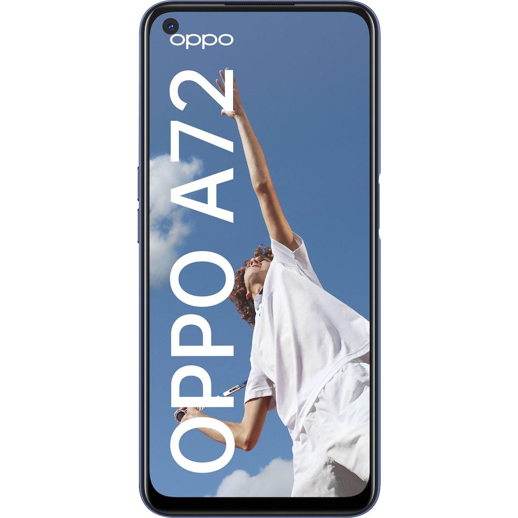"Oppo Smartphone »A72«, (16,51 cm/6,5 "" 128 GB Speicherplatz, 48 MP Kamera)"
