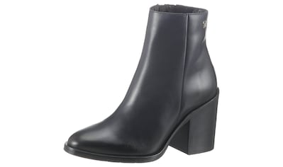 TOMMY HILFIGER Stiefelette »SHADED LEATHER HIGH HEEL BOOT« kaufen