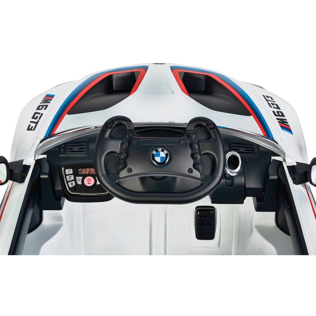 Jamara Elektro-Kinderauto »Ride-on BMW M6 GT3«, ab 3 Jahren, bis 30 kg