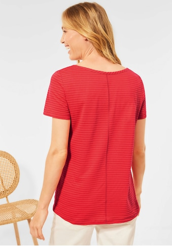 Cecil V-Shirt, mit subtilem Ringelmuster kaufen