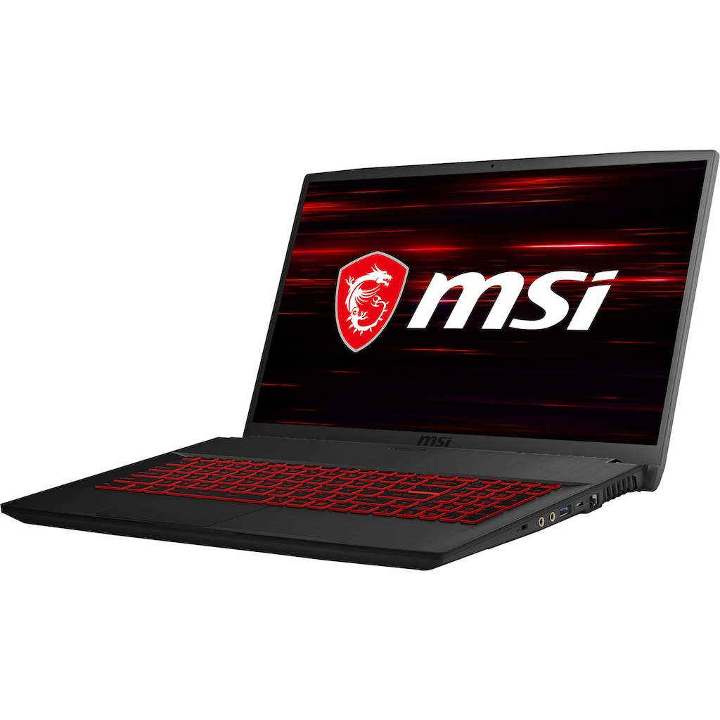 "MSI Gaming-Notebook »GF75 10SDR-420 Thin«, (43,9 cm/17,3 "" Intel Core i7 GeForce® GTX 1660Ti\r\n 1000 GB HDD 256 GB SSD)"