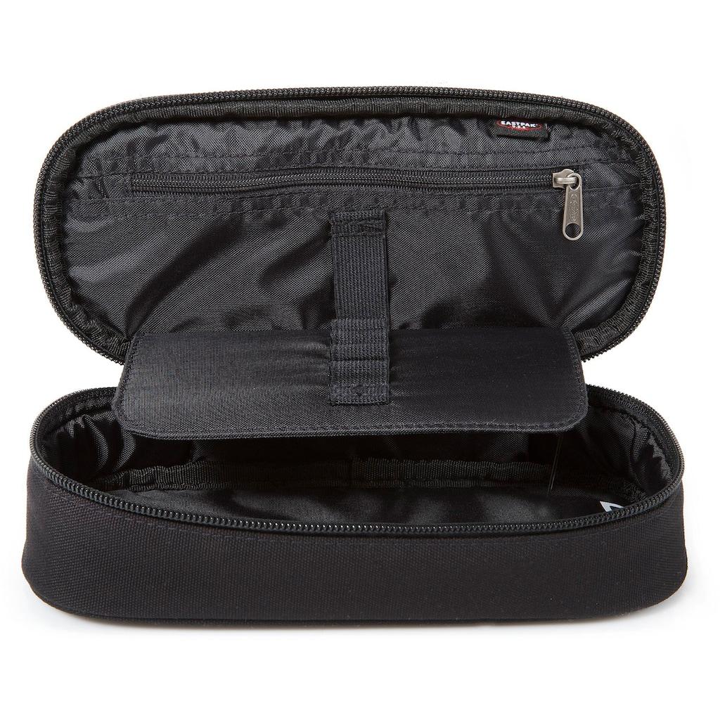 Eastpak Schreibgeräteetui »OVAL SINGLE, Black«, enthält recyceltes Material (Global Recycled Standard)