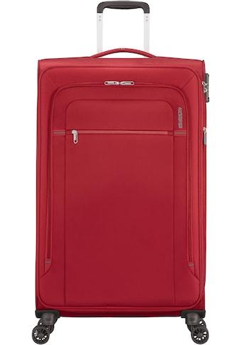American Tourister® Weichgepäck-Trolley »Crosstrack, 79 cm«, 4 Rollen, mit Volumenerweiterung kaufen