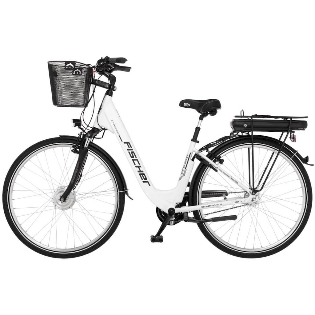 FISCHER Fahrräder E-Bike »ECU 2100«, 7 Gang, Shimano, Nexus, Frontmotor 250 W