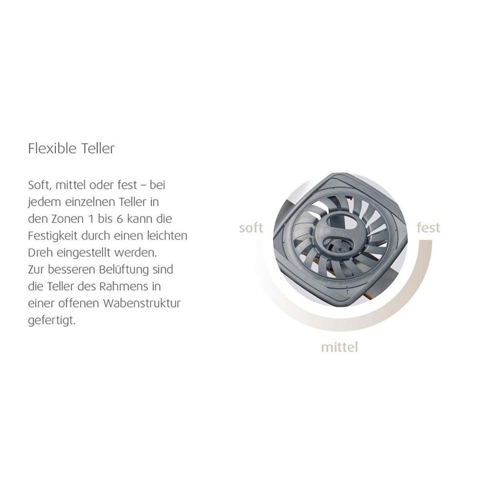Tempur Lattenrost »Premium Flex 1000«, 10 Leisten, Kopfteil manuell verstellbar, manuell verstellbar für Ober- und Unterkörper