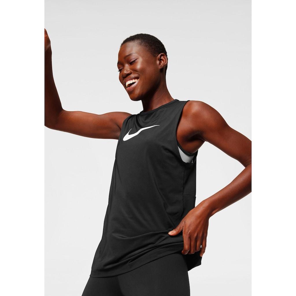 Nike Funktionstop »Nike Pro Women's Swoosh Tank«, Tiefer Rückenausschnitt