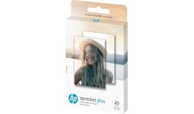 HP Fotopapier, »Sprocket Plus ZINK® 20 Blatt«, (20 - tlg.) kaufen