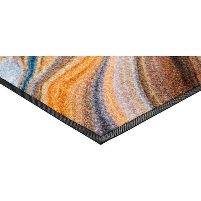 Läufer, »Granito«, wash+dry by Kleen-Tex, rechteckig, Höhe 7 mm, gedruckt