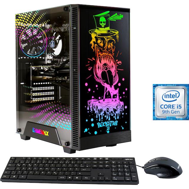 Hyrican »Multimedia PC 6547« Gaming-PC (Intel, Core i5, RX 580, Luftkühlung)