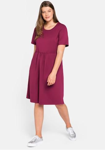 Sheego Jerseykleid, mit Taschen kaufen