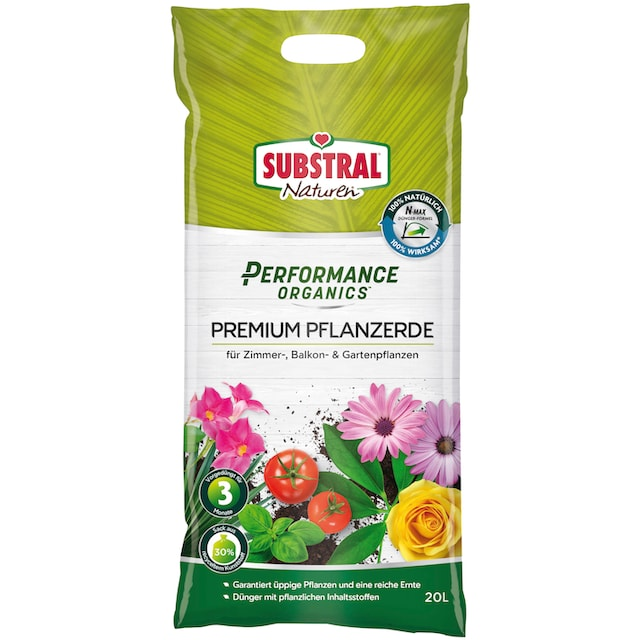 SUBSTRAL Pflanzenerde »Naturen Performance Organics Premium«