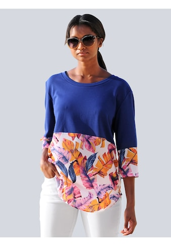 Alba Moda Strandshirt, im Materialmix kaufen