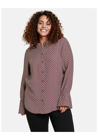 Samoon Langarmbluse »Bluse mit Ärmelvolants« kaufen