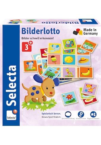 Selecta Spiel »Bilderlotto«, Made in Germany kaufen
