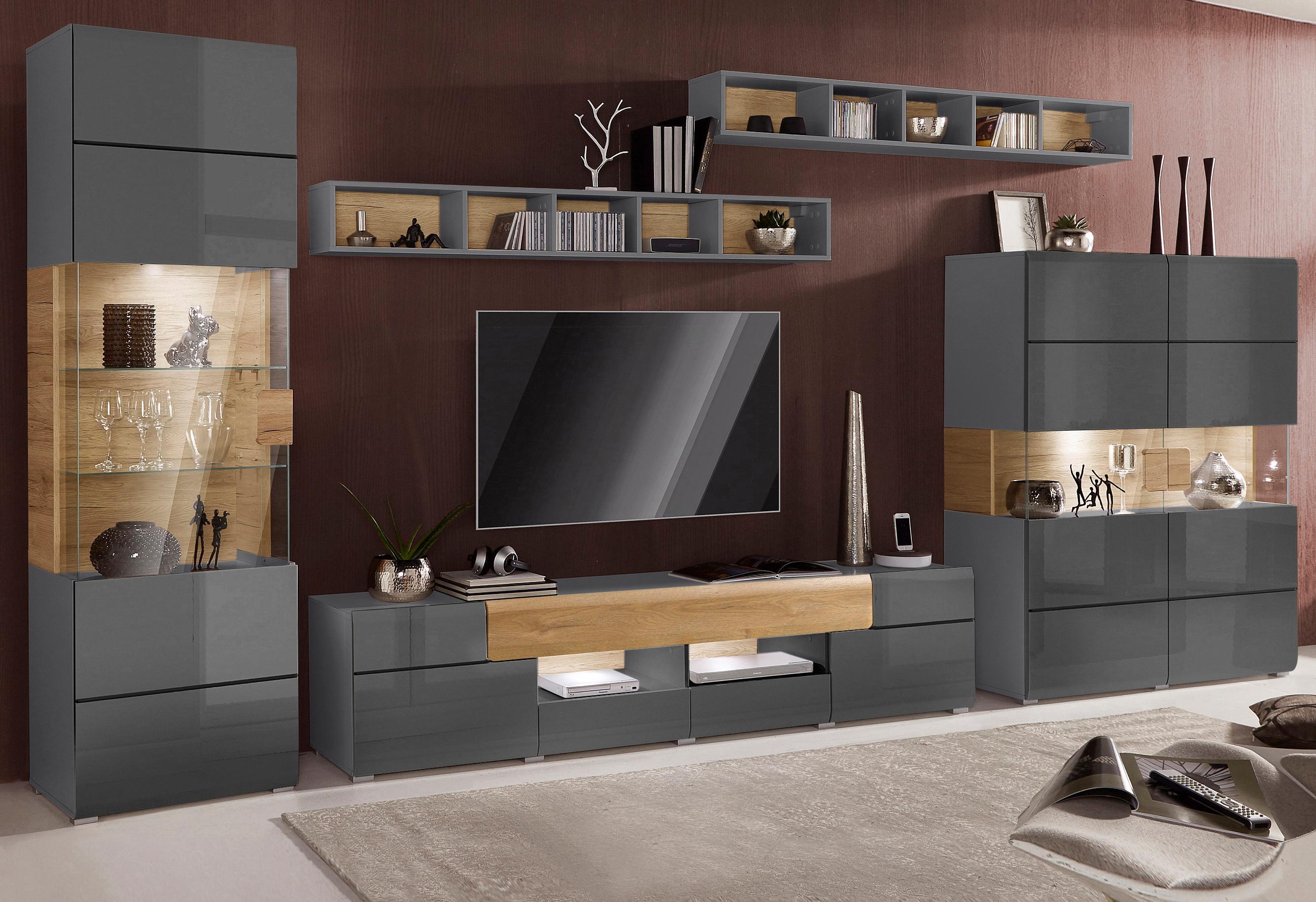 Wohnwand Serie Toledo 5 Teilig Bestellen Baur