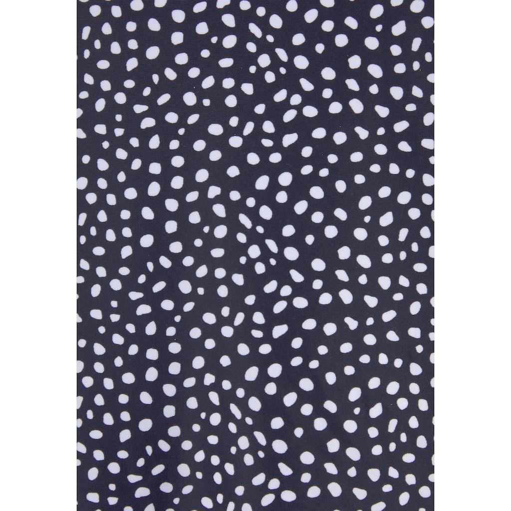 LASCANA Bügel-Tankini-Top »Safari«, mit modernem Print