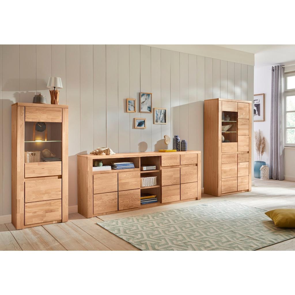 Premium collection by Home affaire Vitrine »Burani«, grifflose Optik