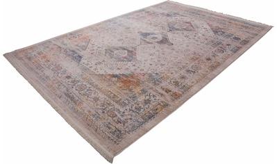 LALEE Teppich »Vintage 703«, rechteckig, 7 mm Höhe, Besonders weich durch Microfaser, Wohnzimmer kaufen