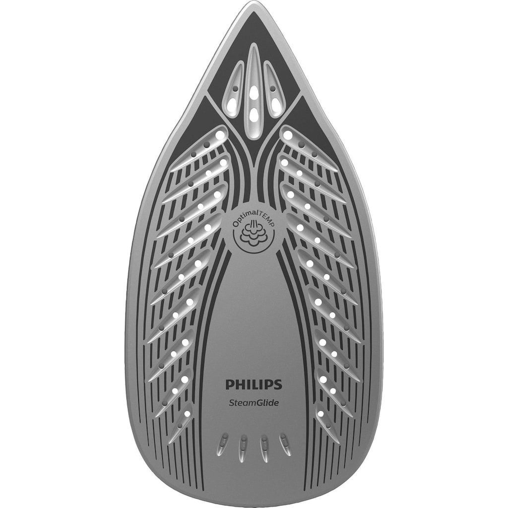 Philips Dampfbügelstation »GC7929/20 PerfectCare Compact Plus«, 2400 W, Optimal TEMP, 6,5 bar Dampfdruck, 450 g/Min. Dampfstoß, blau