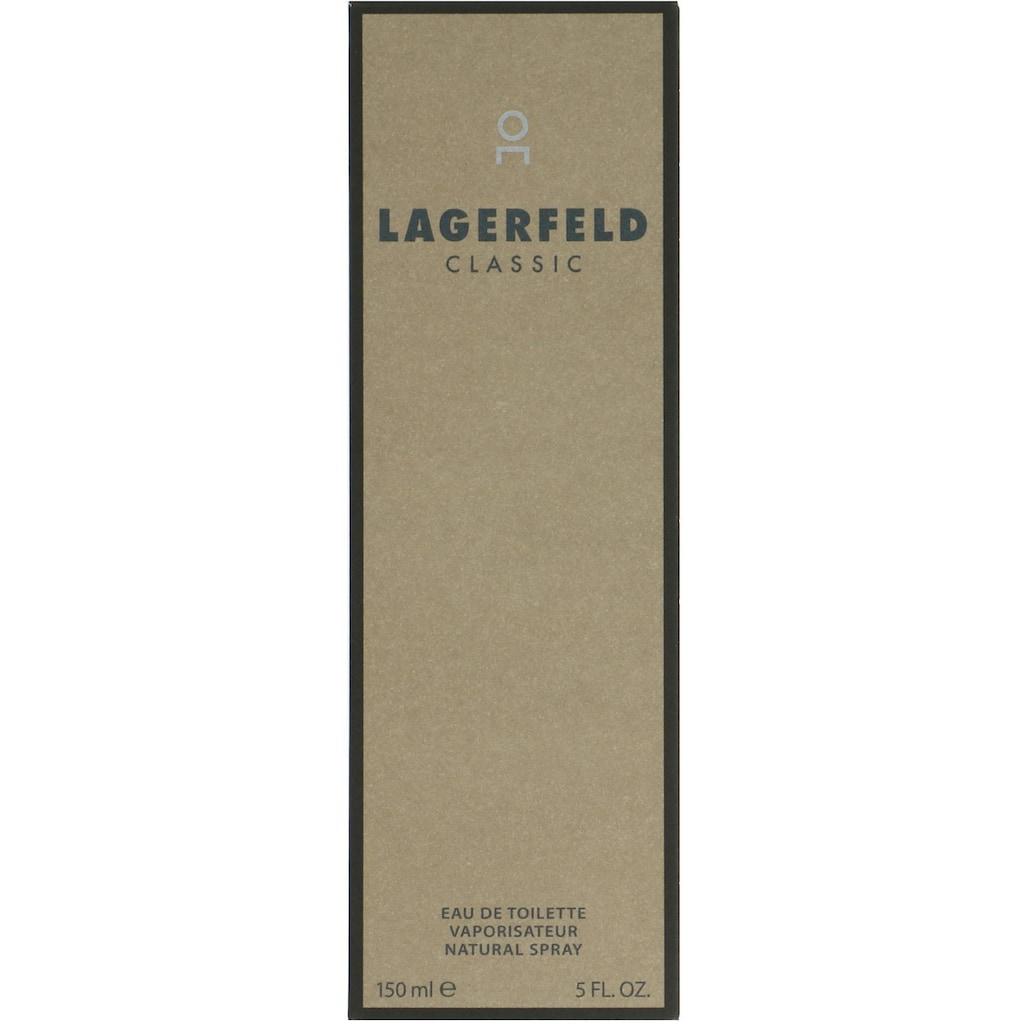 LAGERFELD Eau de Toilette »Classic«