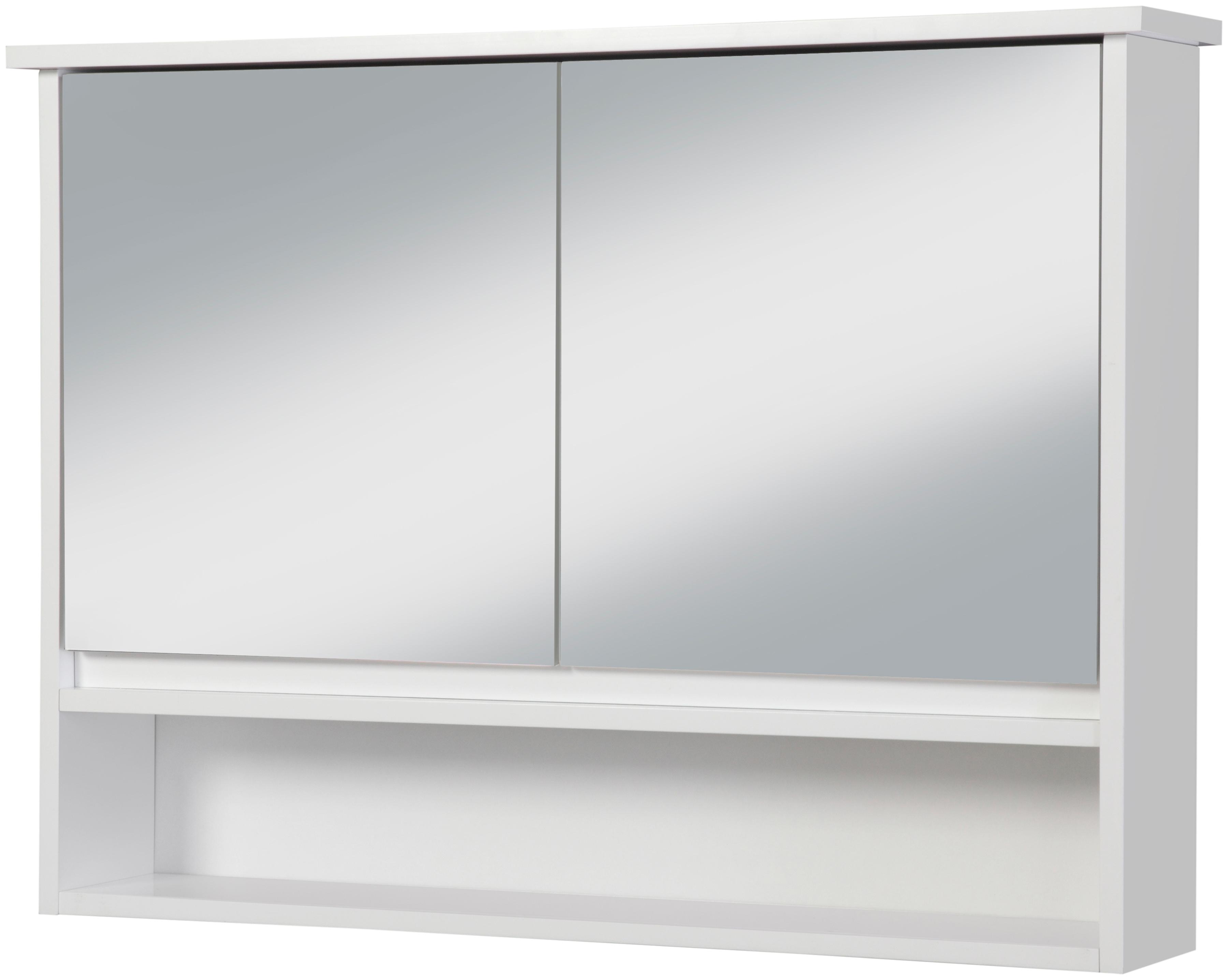 Spiegelschrank »Luzern«, 2 Türen und 3 Ablagen online bestellen