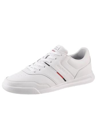 Tommy Hilfiger Sneaker »LIGHTWEIGHT SNEAKER LEA STRIPE«, mit Logoschriftzug auf der Zunge kaufen