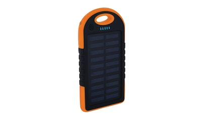 XLAYER Zusatzakku »Powerbank PLUS Solar Black/Orange 4000mAh Smartpho« kaufen