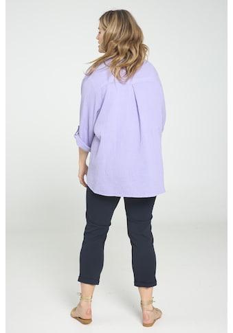Paprika Klassische Bluse »Arme hochgekremmpelt«, gemustert kaufen