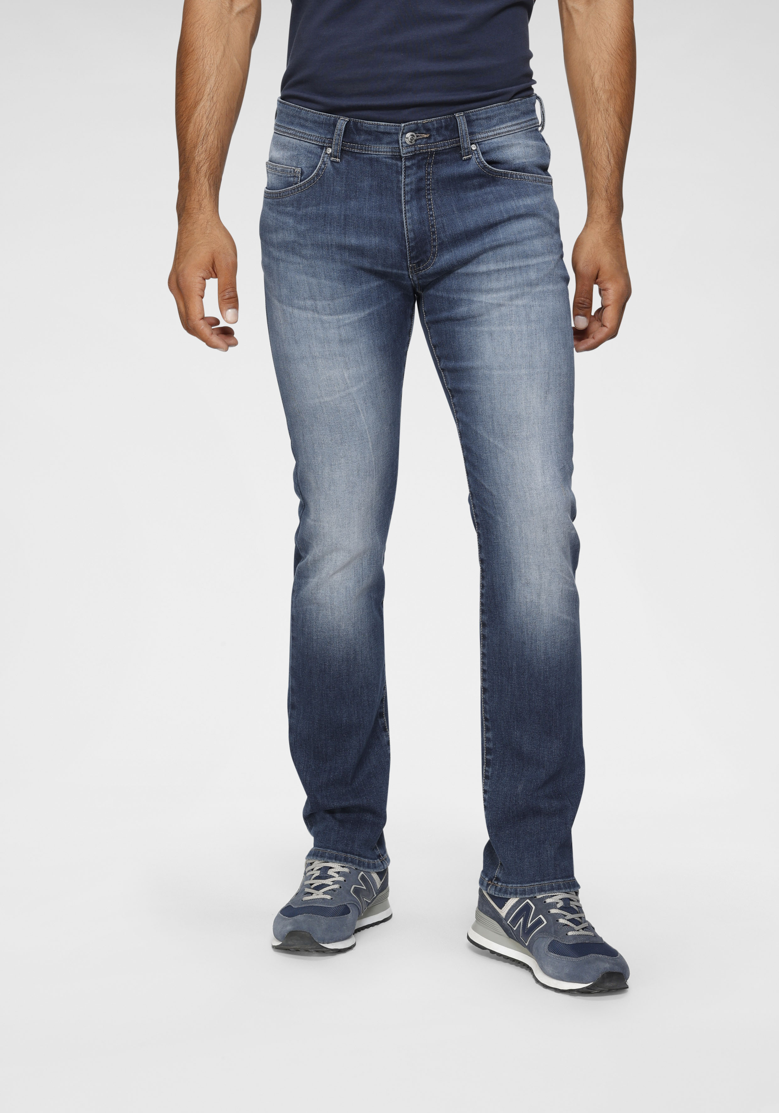 tom tailor polo team -  5-Pocket-Jeans DAVIS, mit used Waschung
