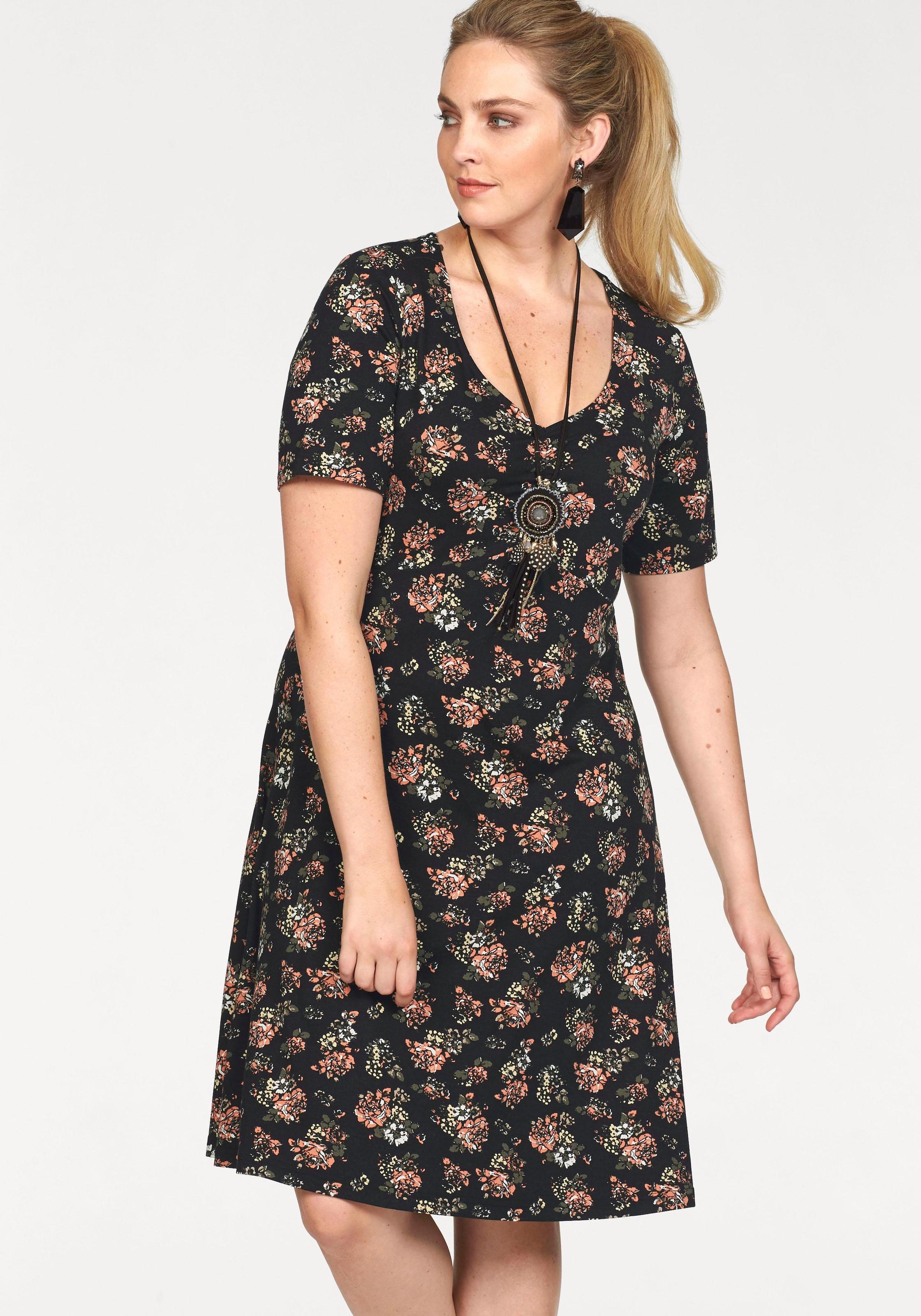 Boysen's Jerseykleid mit femininer Raffung online kaufen | BAUR
