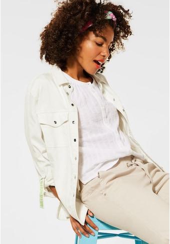 STREET ONE Jeansjacke, mit Knopfleiste kaufen