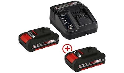 Einhell Akku-Set »Power X-Change«, 18,0 V, Akku 2,0 Ah mit Ladegerät kaufen