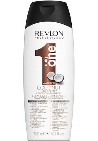 "REVLON PROFESSIONAL Haarshampoo ""Uniq One All in one Coconut Hair & Scalp Conditioning Shampoo"" kaufen"
