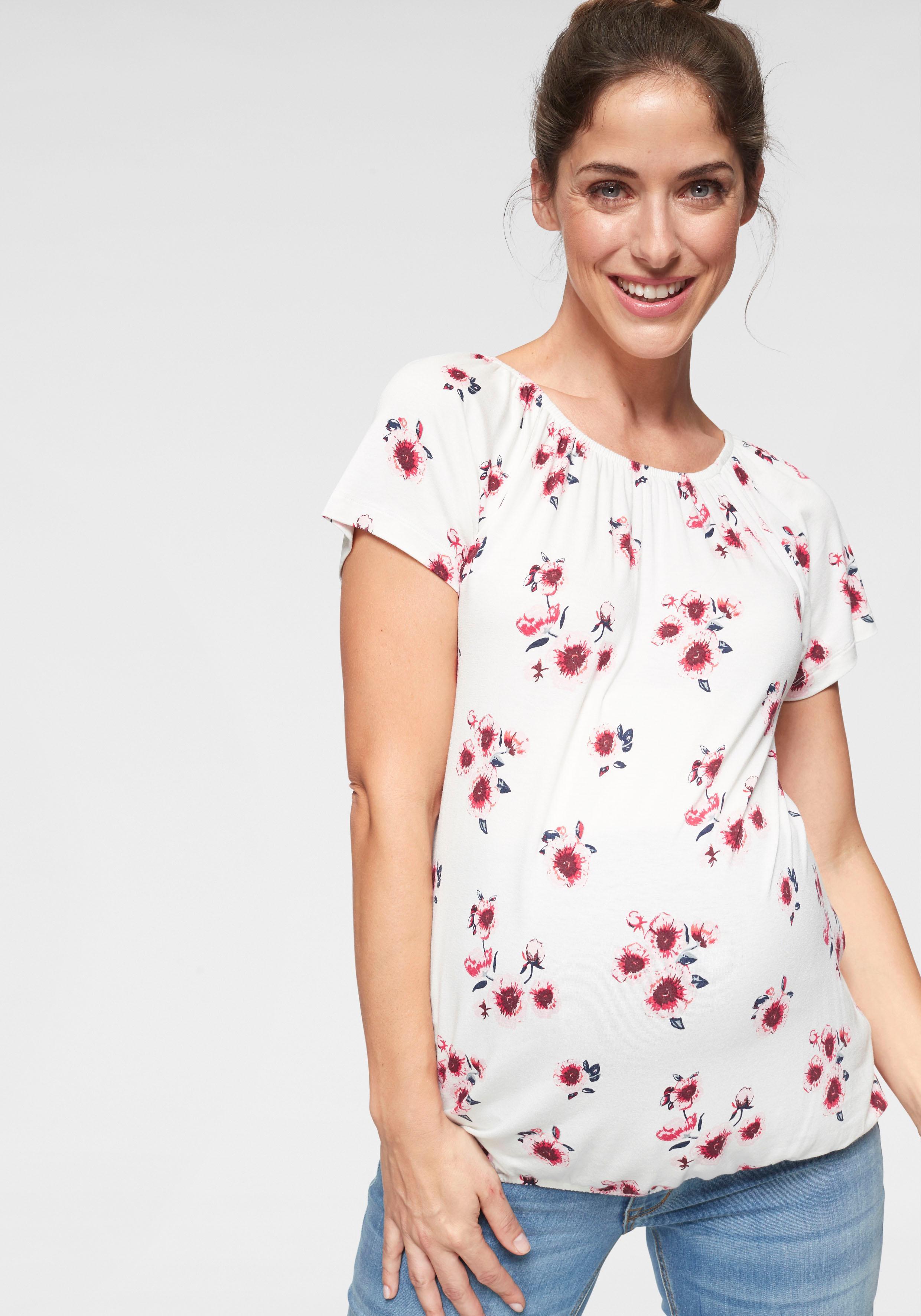 Neun Monate Umstandsshirt | Bekleidung > Umstandsmode > Umstandsshirts | Weiß | neun monate