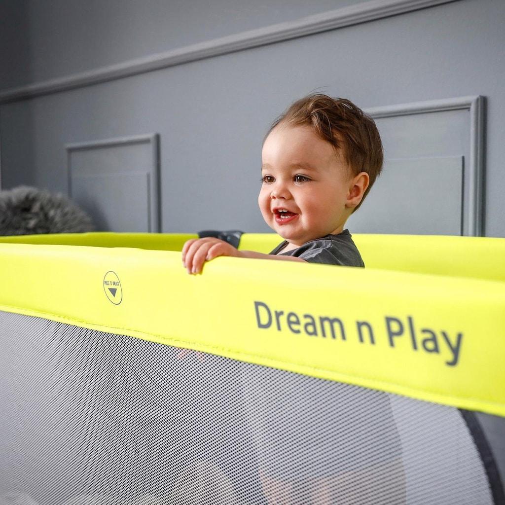 Hauck Baby-Reisebett »Dream N Play - Green/Grey«, inkl. Transporttasche