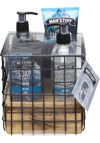 MAN'STUFF Geschenk-Set »Body Care Essentials«, (5 tlg.) kaufen