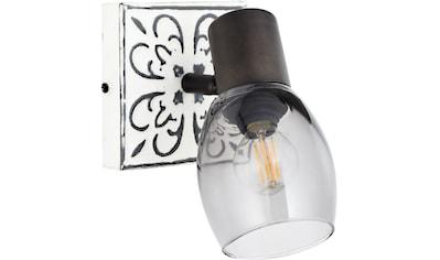 Brilliant Leuchten Wandstrahler »Tolosa«, E14, Vintage, Metall/Glas, E14, 1 x 6W kaufen