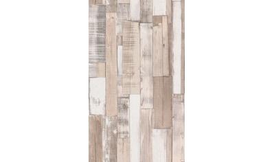 Rasch Papiertapete »Selection«, gemustert-Holz kaufen