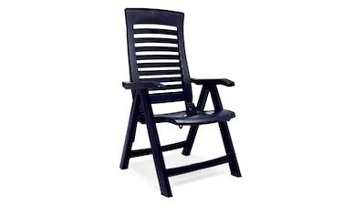 Best Gartenstuhl »Florida«, 2er Set, Kunststoff, verstellbar, blau kaufen