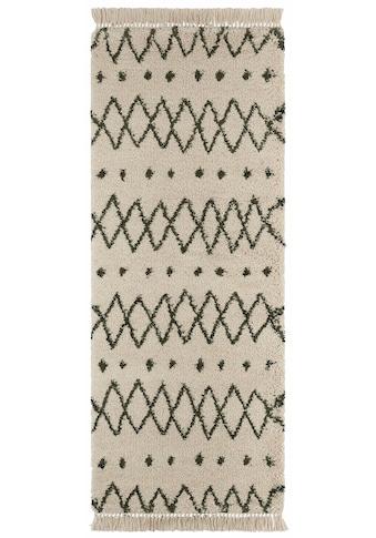 freundin Home Collection Hochflor-Läufer »Calla«, rechteckig, 35 mm Höhe kaufen