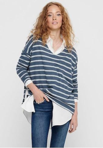 Only V - Ausschnitt - Pullover »ONLMAYEA LIFE« kaufen